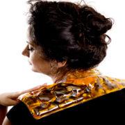 כרית חימום לצוואר או כתפיים, כריות חימום רב פעמיות להקלה בכאבים | מרכז דפנה